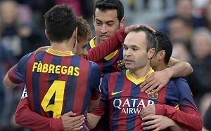 Barça potrzebuje Iniestę