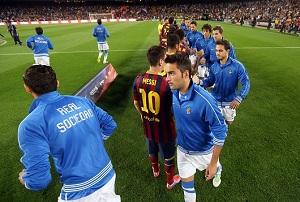 FC Barcelona – Real Sociedad (składy)