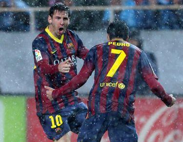 Lider w strugach deszczu: Sevilla FC – FC Barcelona (1:4)