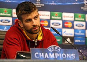 Piqué: Obydwie drużyny podejdą do meczu z dużą pewnością siebie