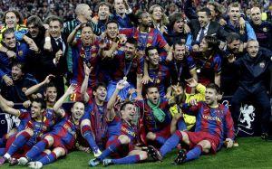 Z taką samą ilością punktów Barça zgarnęła potrójną koronę