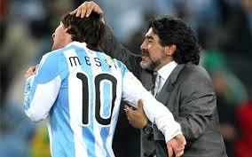 Maradona: Dlaczego Messi nie mógłby przejść do Bayernu?