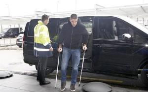 Valdés poleciał do Niemiec na operację
