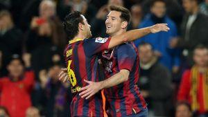 Piękny gol Messiego z rzutu wolnego