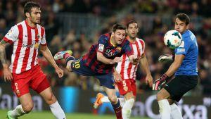 Statystyki z meczu FC Barcelona – UD Almería