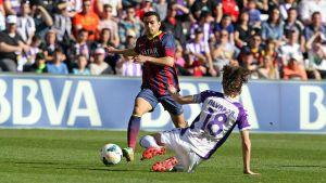 Statystyki z meczu Real Valladolid – FC Barcelona