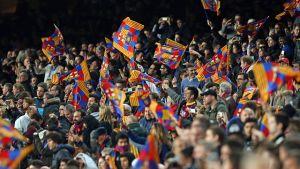 Świetna frekwencja na Camp Nou