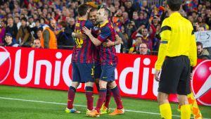 Statystyki z meczu FC Barcelona – Manchester City