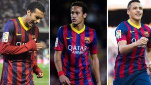 Porównanie: Pedro, Neymar czy Alexis?