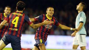 FC Barcelona – Celta Vigo; Składy