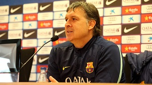 Tata Martino: Wierzę w reakcję zespołu