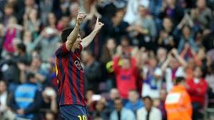 Leo Messi w formie przed starciem na Bernabéu