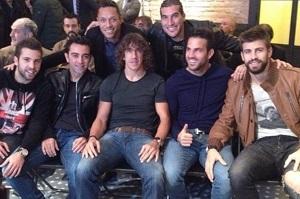 Jordi Alba, Thiago i Del Bosque wychwalają postać Puyola