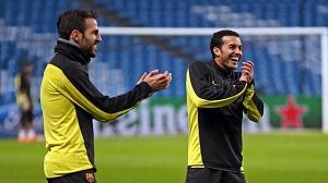 Cesc i Pedro o swoich przeżyciach w Barcelonie