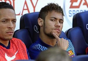 Neymar nie zagrał ani minuty