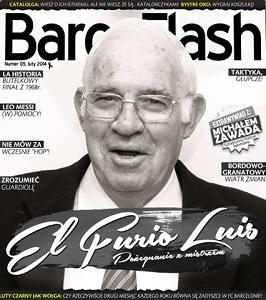 Lutowe wydanie Barça Flash
