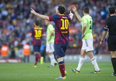 Festiwal bramek: FC Barcelona – Osasuna Pampeluna (7:0)