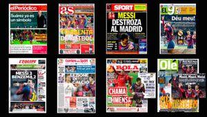 Prasa po zwycięstwie w El Clásico