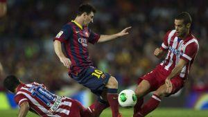 FC Barcelona – Atlético Madryt; Składy