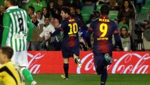 FC Barcelona – Real Betis; Składy