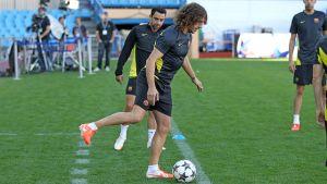 Trening na Calderón z Puyolem w składzie