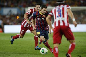 Atlético Madryt – FC Barcelona; Składy