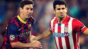 Leo Messi i Diego Costa – pojedynek tytanów