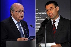 Bartomeu rozmawiał z Blatterem