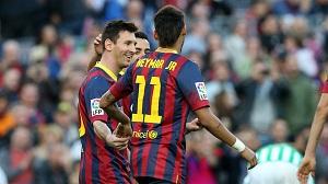 Statystyki z meczu FC Barcelona – Real Betis