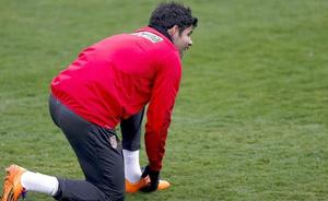 Simeone: Trudno powiedzieć, czy Costa zagra