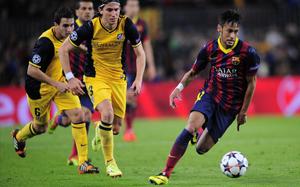 Scolari był wczoraj na Camp Nou