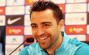 Xavi: Mamy nadzieję, że pierwsi zdobędziemy gola