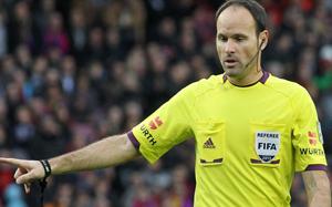 Matheu Lahoz został wybrany sędzią finału Copa Del Rey