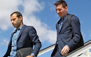 Barça wylądowała w Grenadzie