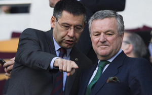Bartomeu będzie oglądał finał UEFA Youth League