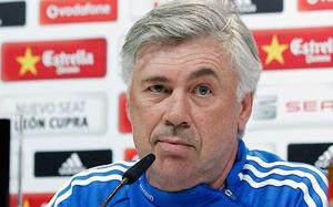 Ancelotti: Cristiano nie zagra z Barceloną