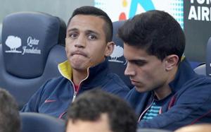 Alexis był rezerwowym w pięciu ostatnich porażkach Barçy