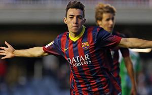 Munir daje zwycięstwo: FC Barcelona B – Girona FC 2:1