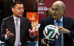 Bartomeu spotka się z Blatterem 6 maja