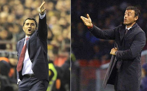 Luis Enrique i Ernesto Valverde, dwaj najwięksi kandydaci na ławkę Barçy