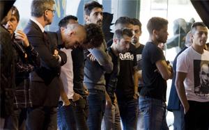 Piłkarze i zarząd oddali hołd Tito