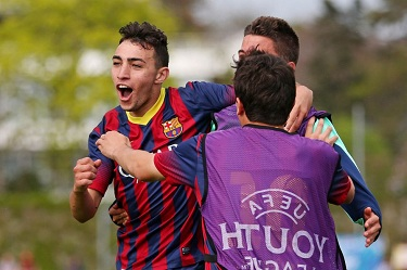 Juvenil A w finale UEFA Youth League!