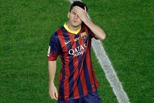 Messi ponownie nieskuteczny