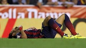 Neymar – 4 tygodnie przerwy