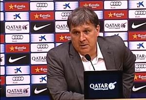 Tata Martino: To nienormalne mieć tyle okazji i nie trafiać