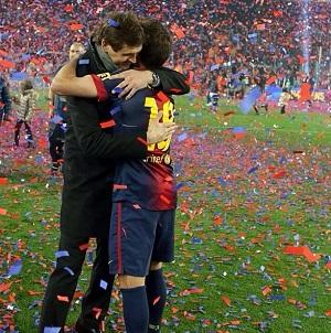 Emocjonalne pożegnanie Jordiego Alby
