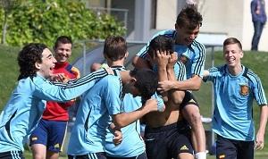 Sześciu z Barçy w kadrze Hiszpanii U16