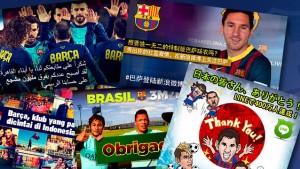 Barcelona przekroczyła 20 milionów polubień na portalach społecznościowych!