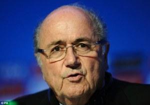 Blatter: Takie zachowanie to skandal