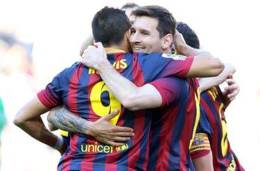 Zwycięstwo w dzień głosowania: FC Barcelona – Real Betis (3:1)